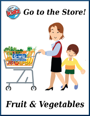 go to the store fruit vegetable esl efl card games